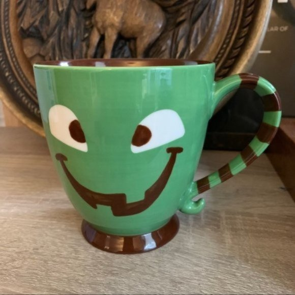 Starbucks Halloween Green Monster coffee mug